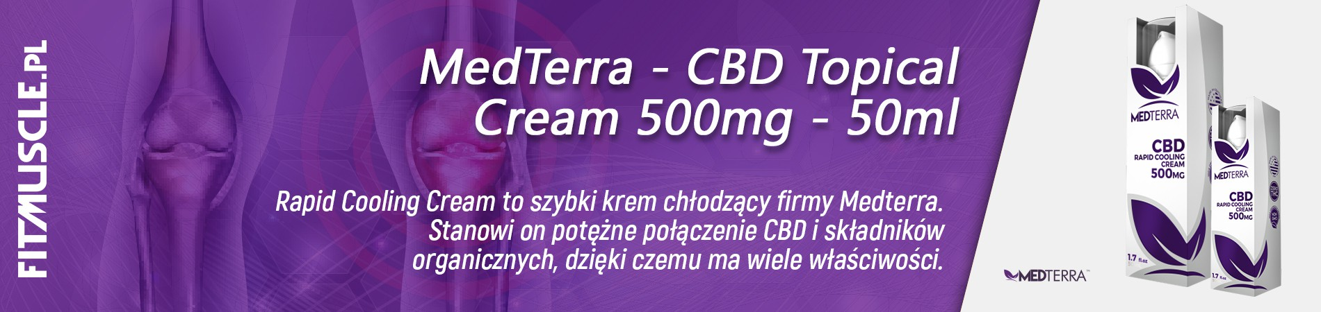 MedTerra | CBD Sport Cream | 50ml